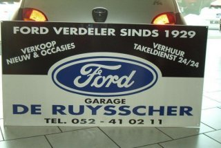 Garage De Ruysscher nv - Ford sinds 1929