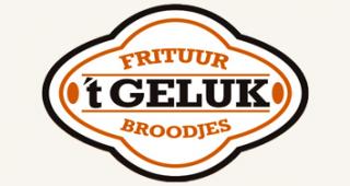 Logo frituur 't geluk