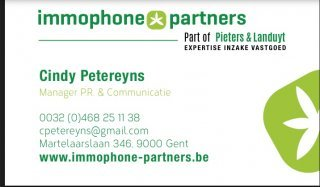 Immophone Partners Cindy Petereyns