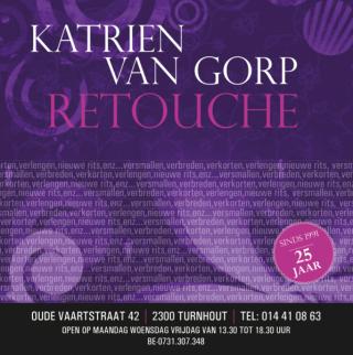 retouches Turnhout Ravels Vosselaar Beerse