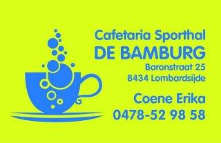 Sporthal De Bamburg-Erika