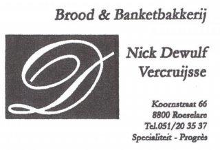 Brood & Banketbakkerij Nick Dewulf-Vercruijsse
