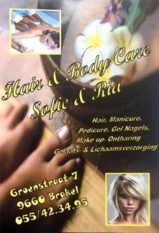 Hair & Body Care Sofie & Ria