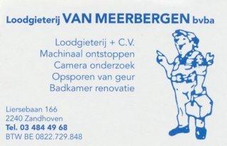 Loodgieterij Van Meerbergen