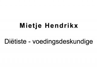 Diëtiste Hendrikx
