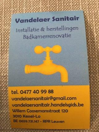 Logo Vandelaer Sanitair