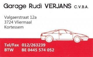 Garage Rudi Verjans