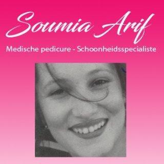 Schoonheidsspecialiste en medische pedicure Soumia
