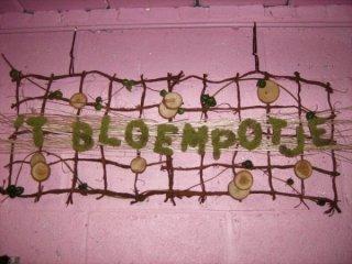 Logo 't Bloempotje