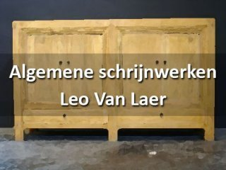 Algemene Schrijnwerken Leo Van Laer