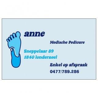 Anne Medische pedicure aan huis