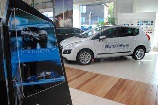 Nieuwe auto