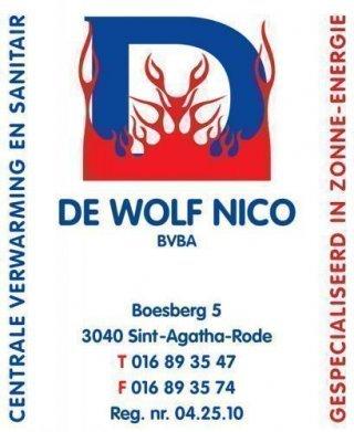 De Wolf Nico bvba