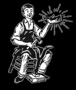 Logo schoenmakerij Grijp