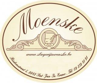 Logo Slagerij Moenske uit Sint-Laureins
