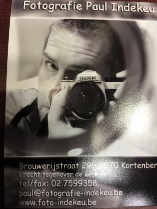 Fotografie Paul Indekeu
