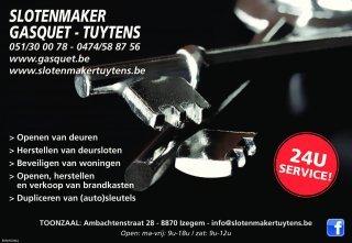 Slotenmaker Ruben Tuytens
