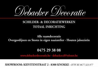 Debacker Schilder- & Decoratiewerken