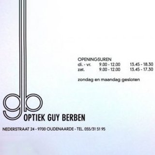 Optiek Guy Berben