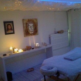 Chakrahealing, energetische massage