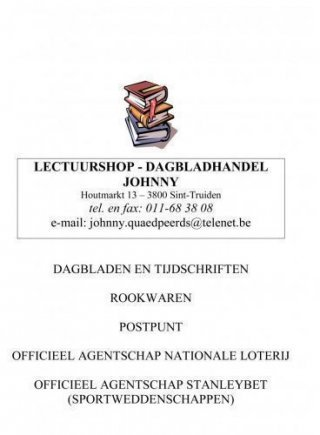 Lectuurshop - Dagbladhandel Johnny