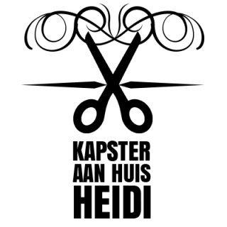 Logo, Kapster aan huis Heidi