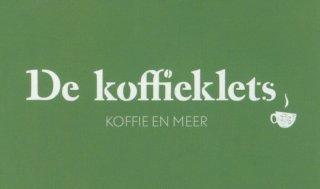Logo koffieklets