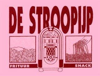 Logo Frituur De Stroopijp