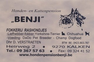 Honden- en kattenpension Benji