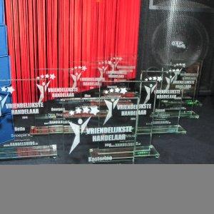 Sfeerfoto alle awards voor de Vriendelijkste Handelaars