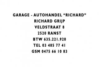 Garage - Autohandel Richard