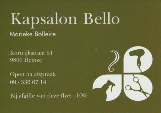 Kapsalon Bello