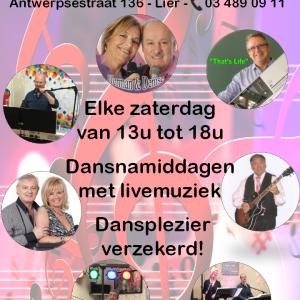 Elke zaterdag livemuziek bij Tearoom Den Bompa!