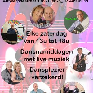 Elke zaterdag live muziek bij Tearoom Den Bompa!
