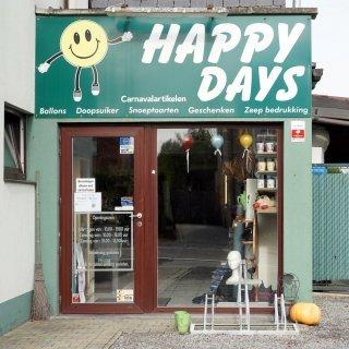 Gevel Happy Days Putte