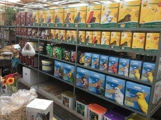 Speciaalzaak voor vogelvoeders en toebehoren