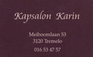 Kapsalon Karin