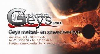 Geys Metaal & Smeedwerken bvba