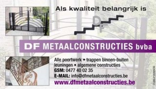 Frank Dewelde Metaalconstructies