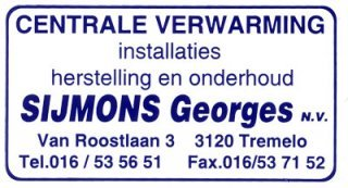 Sijmons Georges nv.