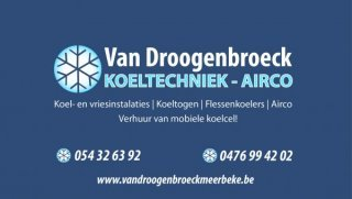 Koeltechniek - Airco Van Droogenbroeck