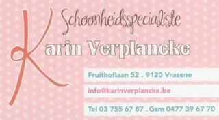 Schoonheidsspecialiste Karin Verplancke