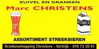 Christens Zuivel en dranken