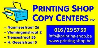 Printing Shop - Copy Centers