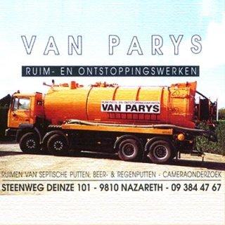 Van Parys Ruim- en Ontstoppingswerken